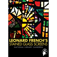 Leonard French's Stained Glass Screens - National Library Canberra
