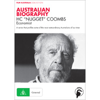 "Australian Biography: H.C. ""Nugget"" Coombs"