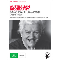 Australian Biography: Dame Joan Hammond