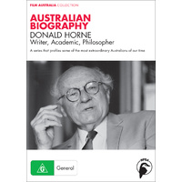 Australian Biography: Donald Horne