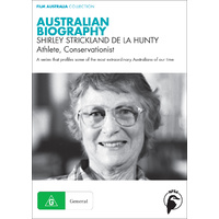 Australian Biography: Shirley Strickland de la Hunty