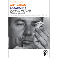 Australian Biography: Donald Metcalf